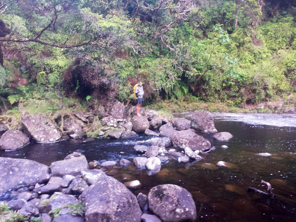 Stream Crossing before Koaie Camp