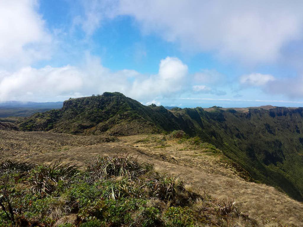 South Face of Kawaikini Summit