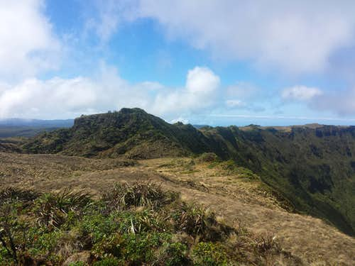 South Face of Kawaikini Summit