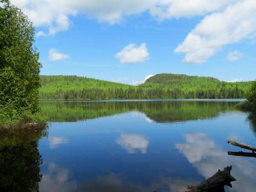 Whale Lake - Eagle Mountain