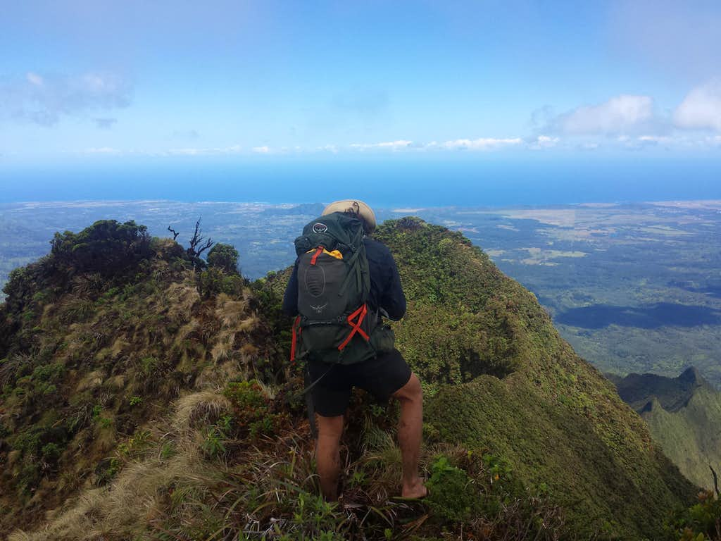 Towards Lihui from Kawaikini