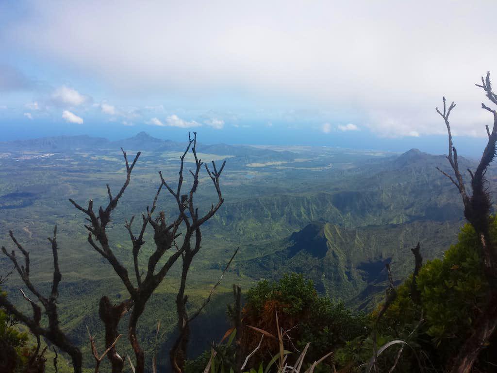 Towards Poʻipū from Kawaikini