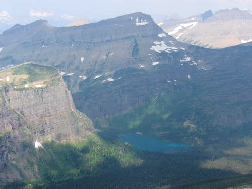 Angel Wing, Grinnell Mountain & Grinnell Lake