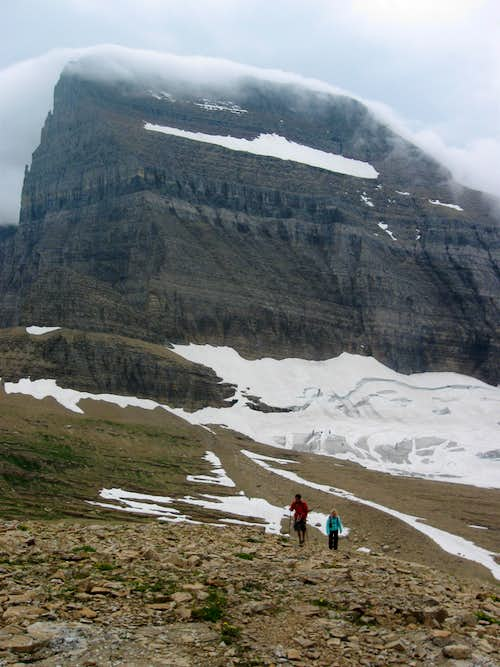 mount gould behind grinnell - photo #14