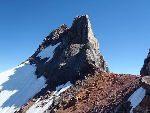 Mount Jefferson and Red Saddle