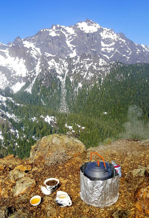 Tea on Valhalla Peak