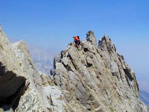 Dayhiking the Northeast Ridge of Williamson