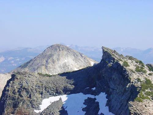 Mount Agassiz\'s summit looks...