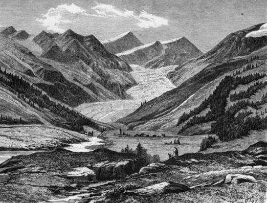 Mittelbergferner and Wildspitze