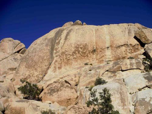 Suicide Horn Rock, 5.10a-5.11c