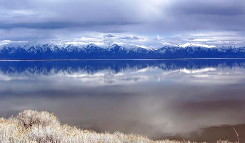Northern Wasatch reflection
