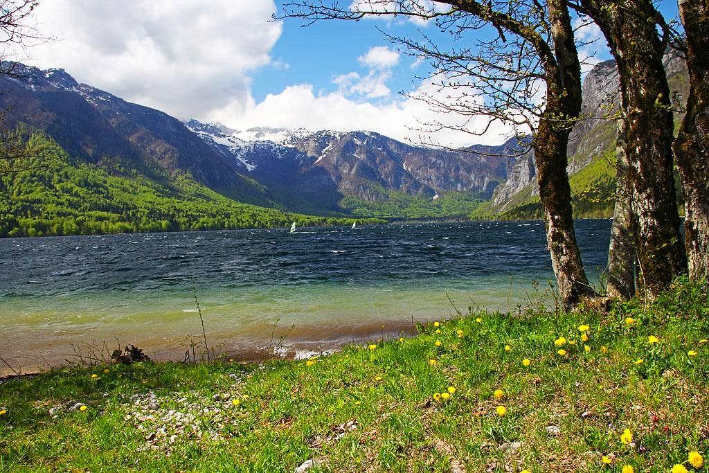 Bohinj lake - east shore