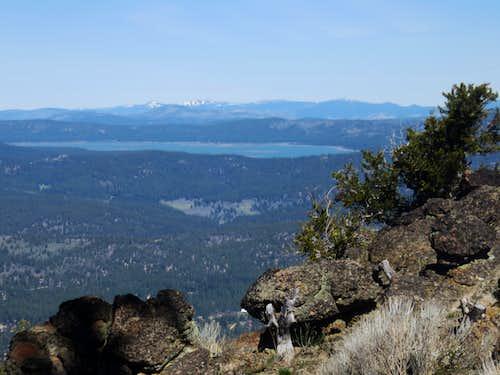Lake Davis zoom shot from the summit