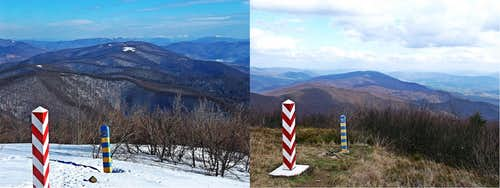 Call of Freedom and longed-for return to beloved places.. Wielka Rawka Summit and hiking along the border.