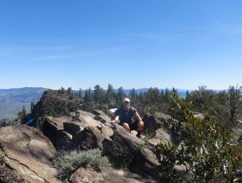 Sitting atop Beckwourth Peak