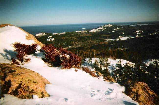Bare unnamed summits in the...