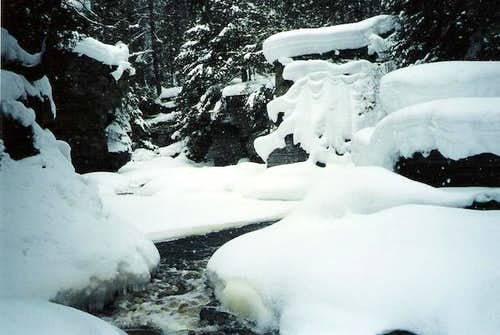 Sturgeon River Gorge, Baraga...