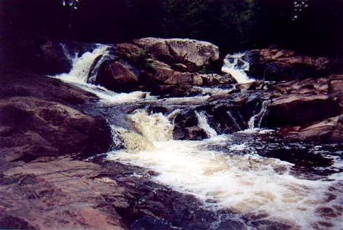 Unnamed Falls on the Yellow...