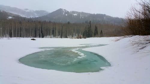 Willow Lake Spring Storm