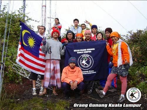 At Mount Singgalang