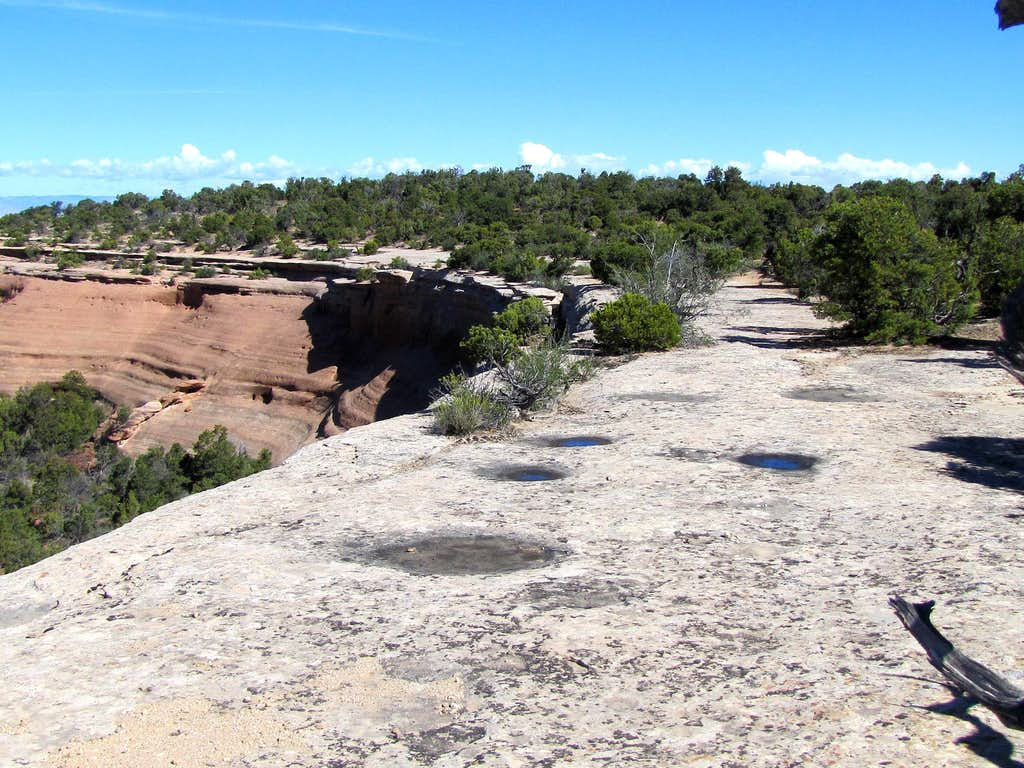 Edge of Monument Canyon