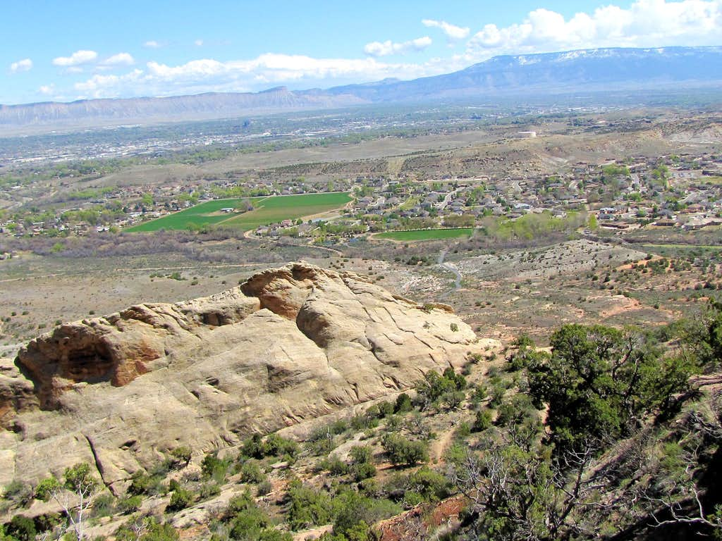 Near the junction with Corkscrew & Ute Canyon Trails