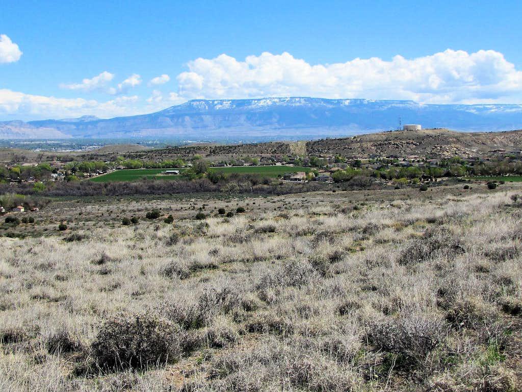 Grand Mesa, near lower trailhead