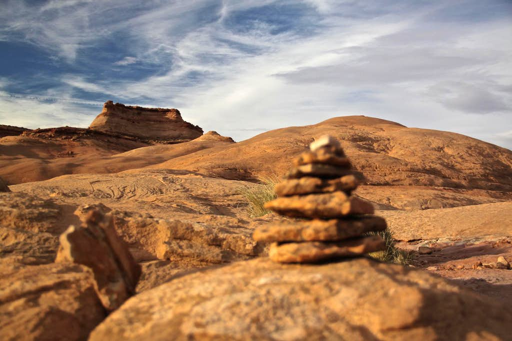 Slick rock approach