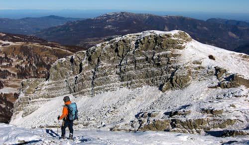 Rocca Pianaccia seen from Sillara