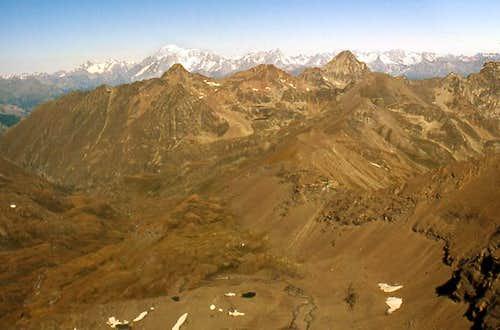 Panoramic view towards NW...