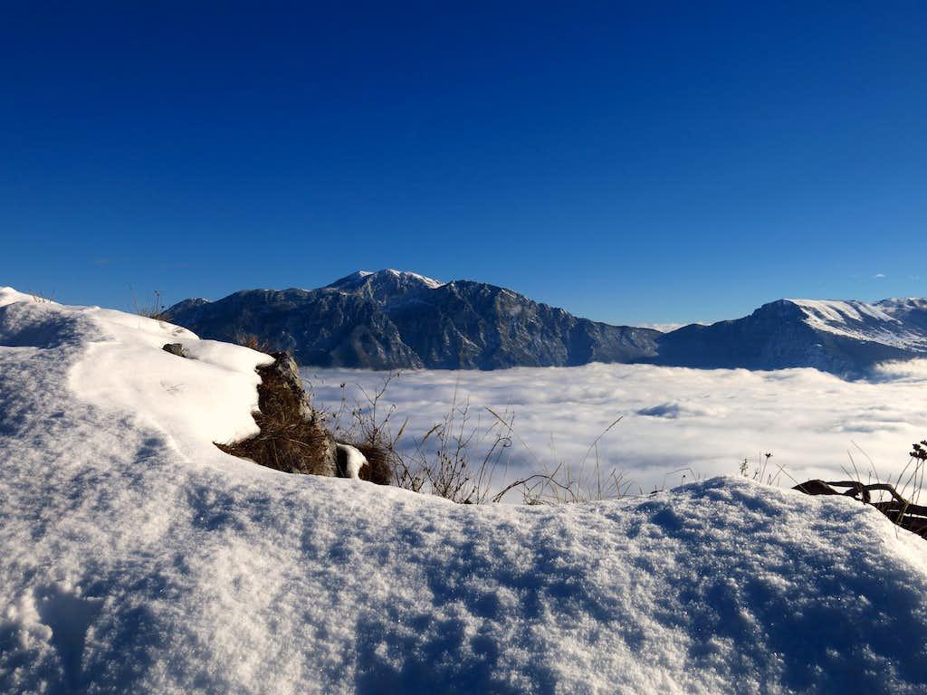 Monte Guil summit ridge