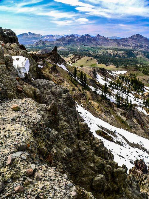 Ebbetts Ridge, Ebbetts Pass area