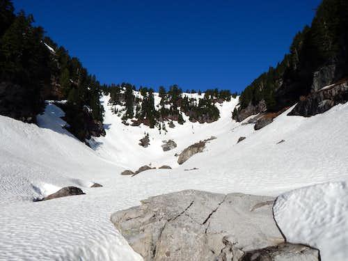 Iodine Gulch on Hermans Peak from 4100'