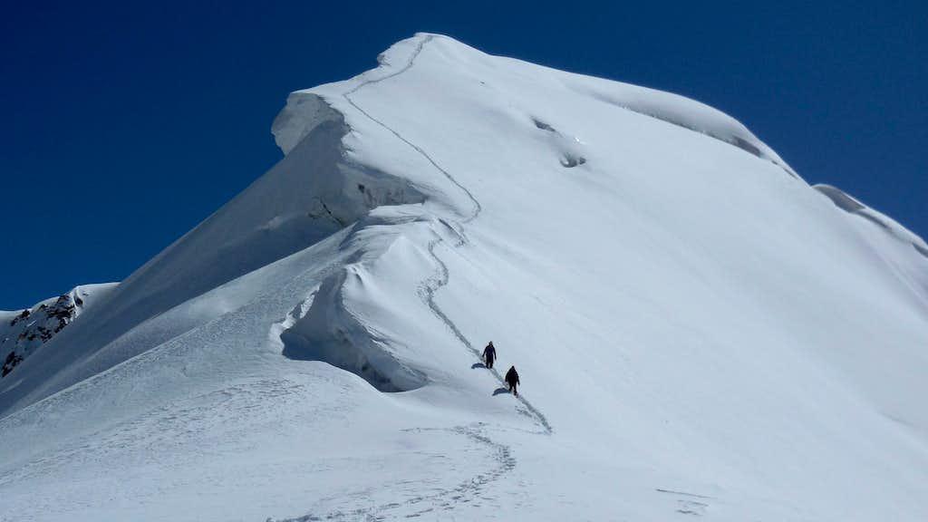 The summit of Harjoldur Sar