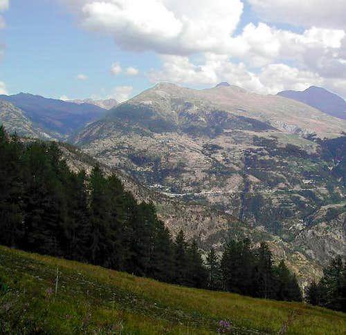Punta Aouillette 2616 m view...