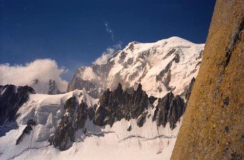View of the Mont Blanc from...