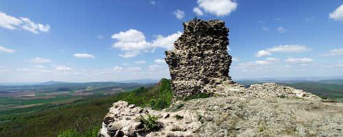 View from Szanda