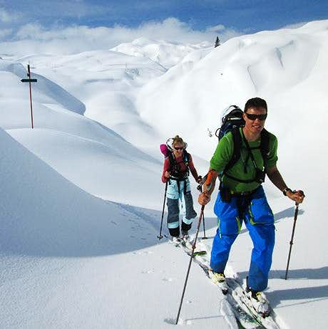 Ski touring in Mount Triglav National Park: 4 days off the beaten tracks!