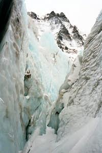 View from inside the Icefall