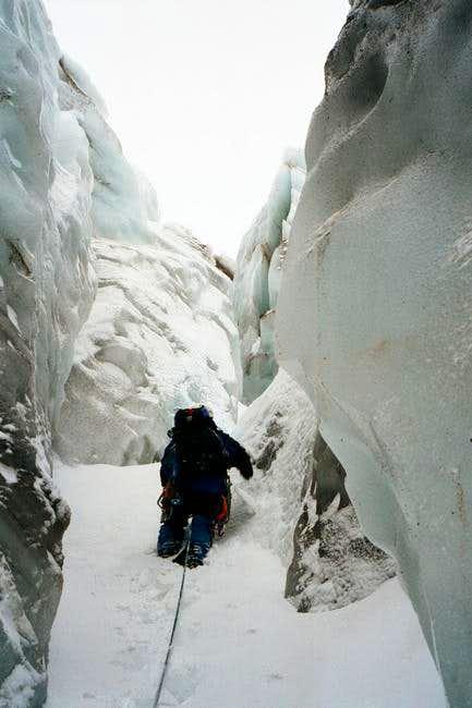 Coe Glacier Maze
