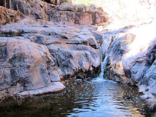 Above Fourth Waterfall