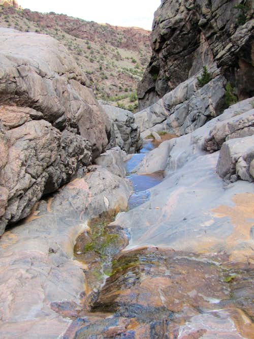Above the First Waterfall