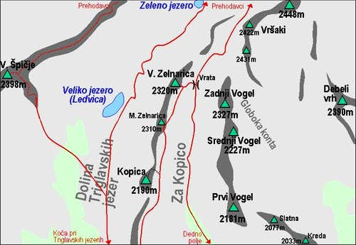 A self made map of Zelnarica...
