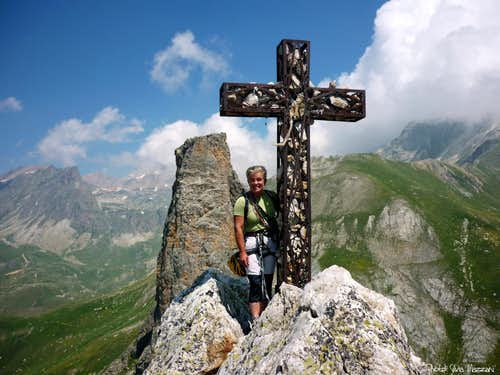 Summit of Croce Provenzale