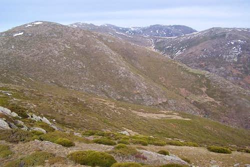 From L to R: point 2119 m (in...