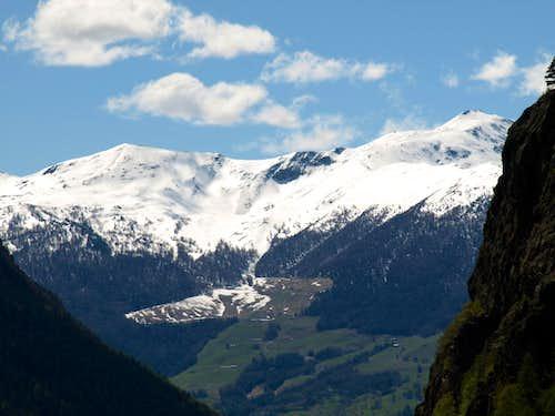 Chaligne & Mont de La Tsa over the Val Buthier 2016