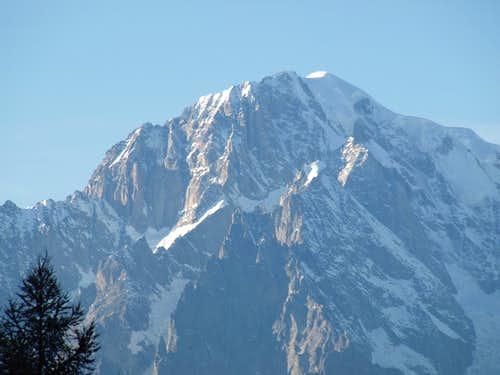 Mont Blanc South & East Faces by Les Combes 2015