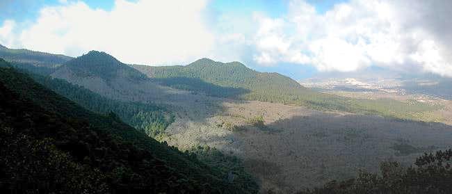 Montaña Quemada, Montaña  de Enrique