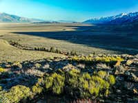 Owens  Valley south from Independence Creek