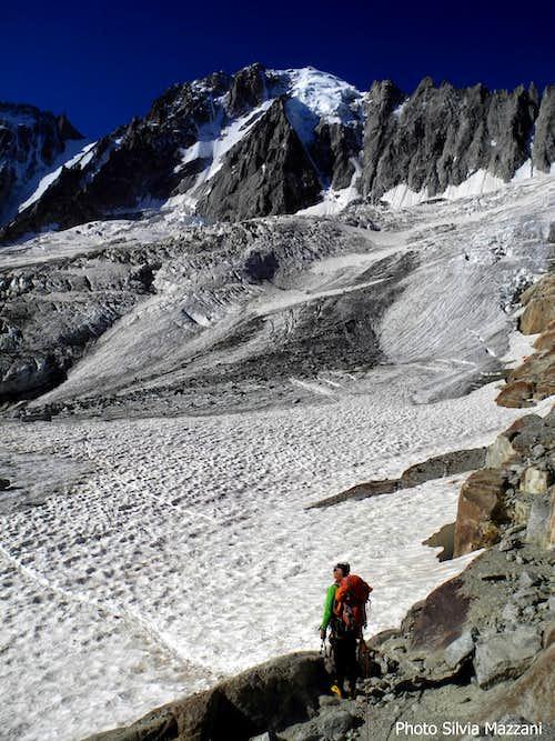 Start of  Glacier d'Argentière